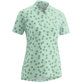 Gonso Lilo Half-Zip SS Bike Shirt Women mist green